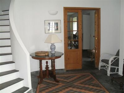 Sao Miguel Island house rental - entrance hall and stairway