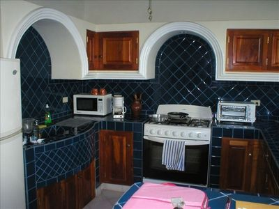 Full Tiled Kitchen
