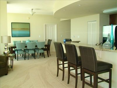 Open Floor Plan Aqua Unit 801