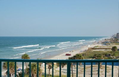 View from Balcony looking South along Daytona Beach
