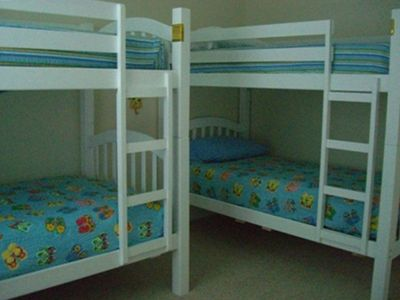Two twin bunks