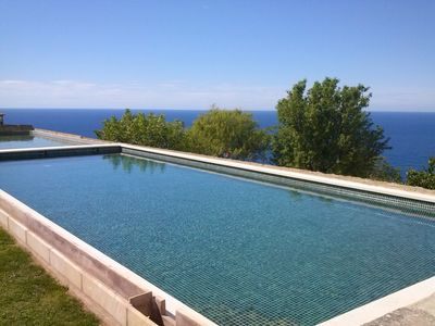 Holiday house with sea views in Mallorca (Banyalbufar) for 8 people