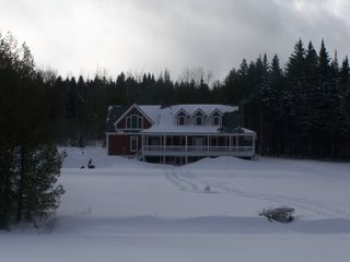 Glover house photo - It Snows and Snows in the Kingdom!