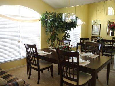 Dining Room with Pull Out Couch