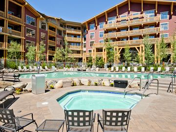 Mammoth Lakes condo rental - Spa