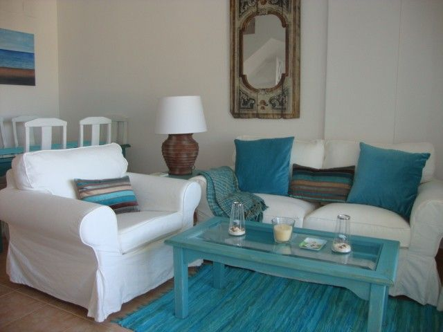 Stylish,comfy 2-bed beach apt. with air-con, internet, Islantilla Golf Resort