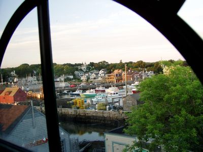 Harborfront - Rockport's Famous Bearskin Neck, water view on all side