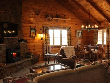 Pagosa Springs cabin rental - Our cozy living room