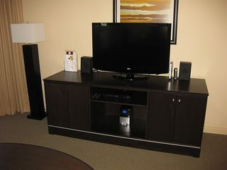 Sunny Isle condo photo - Entertainment Center in living room