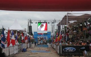 Cozumel condo photo - Ironman Finish Line 2011 - Cozumel