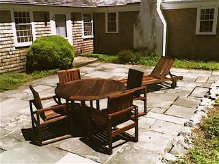 Vineyard Haven house photo - Sunny patio
