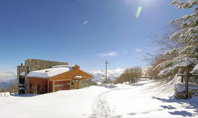Ski right back to the door of Casa Farellones from any of the three resorts