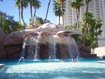 Waterfall at MGM Pool