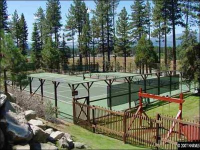 Tahoe Valley condo rental - On-Site Tennis Courts and Playground