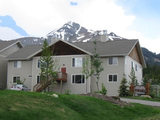 Big Sky condo photo - Lone Peak towers over Cedar Creek