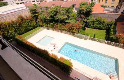 Apartment 3 Rooms Residence with Pool in Cannes - Saint Nicolas