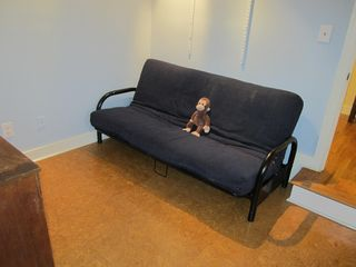 Baltimore house photo - Futon in den