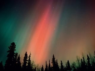 Houston cabin photo - Aurora Borealis viewed in Wasilla Alaska.