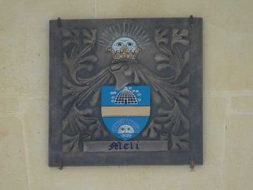 The Meli family coat of arms
