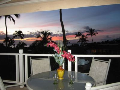 Unforgettable sunsets from your lanai