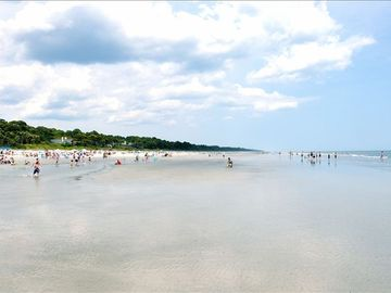 Fabulous Sea Pines Beach -- Enjoy just steps from our Villa!