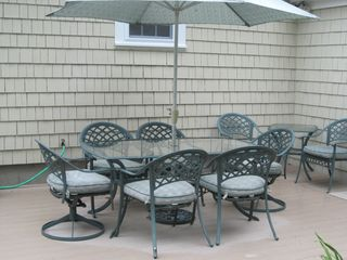 Dennis Village house photo - patio furniture - seating for 8 with two tables