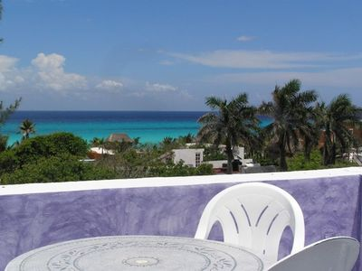 Breathtaking views of the Caribbean from rooftop and bedroom terraces!