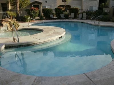 1 of 2 pools to relax and soak up the sun!