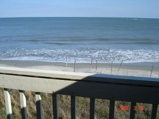 Wild Dunes condo photo - View from balcony