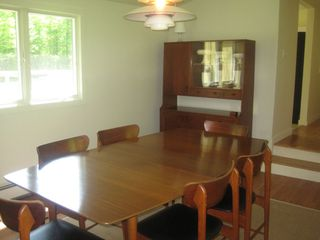 dining room table seats 6 - Great Barrington property vacation rental photo