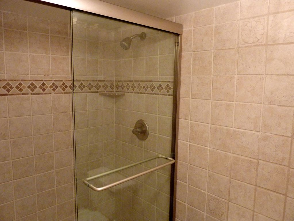 Master Shower With Two Shower