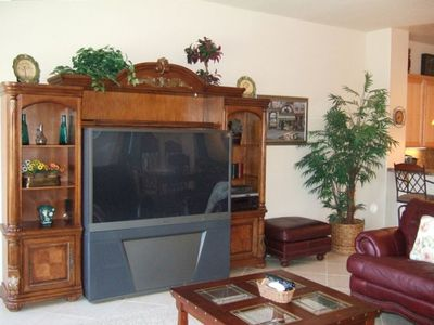 BIG SCREEN TV - FAMILY ROOM