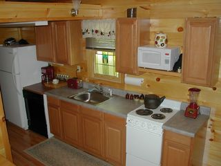 Bryson City cabin photo - Kitchen