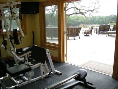 Exercise Room and Pool Deck