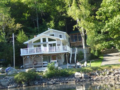 cottages rental private vacation gorgeous dock cottage waterfront v asp home maine with camden pm