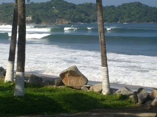 Sayulita house photo - Enjoy watching surfers from the veranda on days when we get great waves.