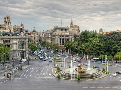 Surrondings, Cibeles square