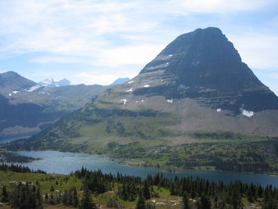 Hidden Lake in Glacier National Park