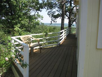 Deck off of master bedroom