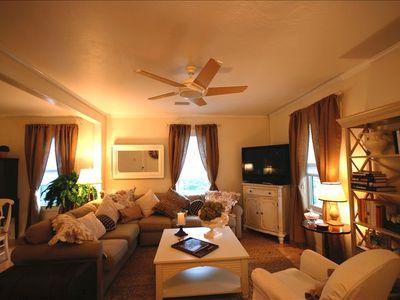 Spacious living area for guests