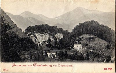 Grafenburg ca. 1910