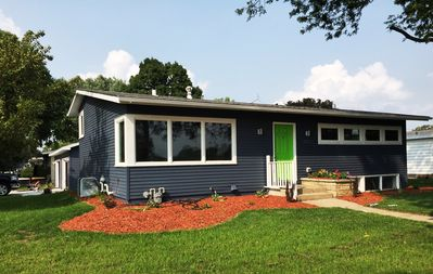 Park-Side, Easy Access To Downtown, Mayo Clinic & Bike Trail, Family-Friendly