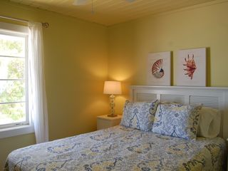 Sarasota house photo - Third Bedroom with Queen Bed, Flat Screen and Views of the Water.