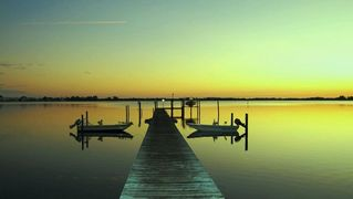 Little Gasparilla Island house photo - Private Dock At The Bay