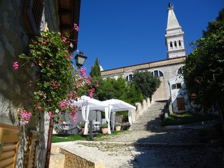 Rovinj City apartment photo - The main church of Saint Euphemia in Rovinj - 2 min walk away