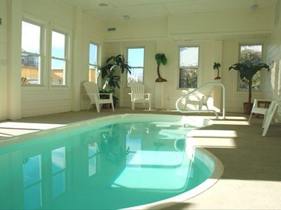 Heated Indoor Pool in Climate Controlled Room