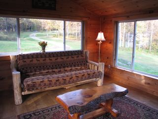 Jay Peak house photo - Large windows allow for lots of natural light!