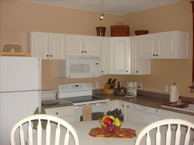 Frederick house rental - Kitchen with island seating.