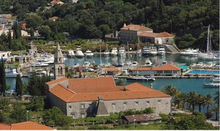 Dubrovnik villa photo - View of the ACI Marina from Villa Bellagio