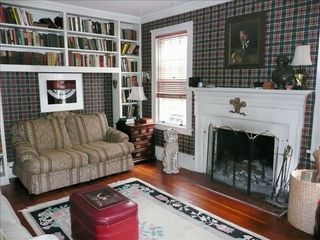 Stonington house photo - Library